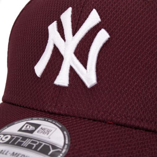 New Era Yankees vinröd 39thirty keps