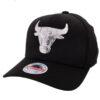 Mitchell & Ness Chicago Bulls svart keps