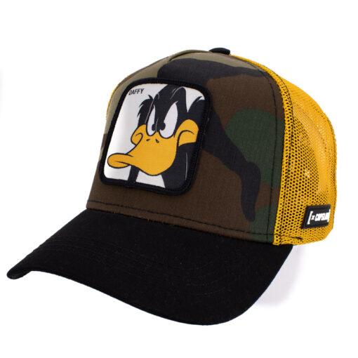 Capslab Daffy duck Camo keps