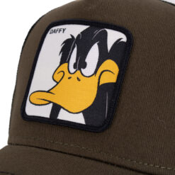 Capslab Daffy duck Olivgrön keps