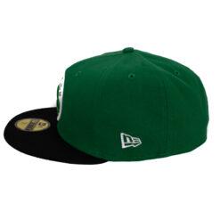 Keps New Era Boston Celtics grön fitted keps