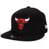 New Era Chicago Bulls svart snapback keps
