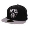 New era Brooklyn Nets svart fitted keps