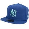 New era Yankees fitted blå keps