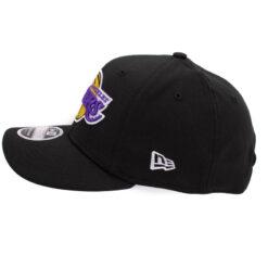 New Era LA Lakers svart stretch-snap