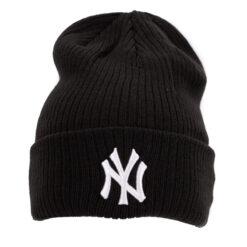 New Era Svart ribbed Yankees mössa