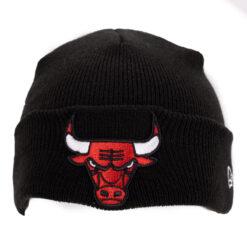 New Era Svart Bulls barnmössa
