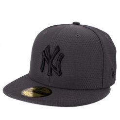 New era New york svart fitted keps hex tech