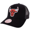 Mitchell & Ness Chicago Bulls Svart NBA trucker keps