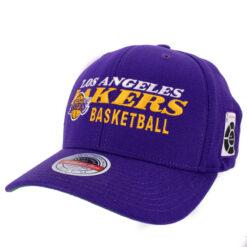 Mitchell & Ness LA Lakers lila NBA keps