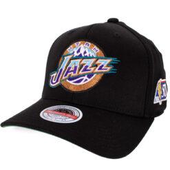 Mitchell & Ness Utah Jazz svart NBA keps