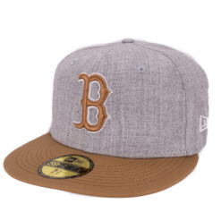 New Era – Boston Red Sox – Grå 59Fifty Fitted keps