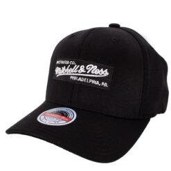 Mitchell & Ness Box logo svart keps