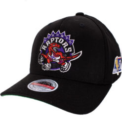 Mitchell & Ness Toronto Raptors Svart NBA keps