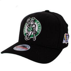Mitchell & Ness Boston Celtics Svart NBA keps